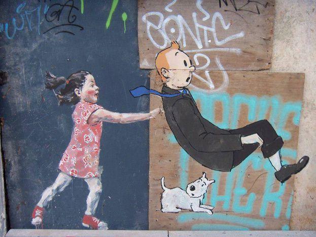 Image for Tintin et la beauté de la vie
