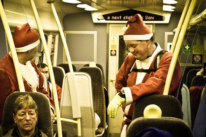 Image for Unions, strikes and snow: Europe's 12 days of christmas discontent