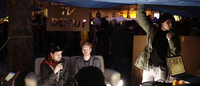 Image for Nuit Debout : « Sa convivialité et son air de Mai 68 »