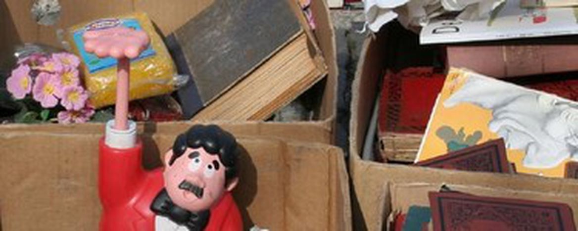 Image for Brussels flea market: bargains abound
