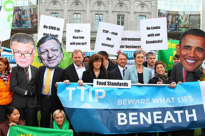 Image for PhilippeLamberts: en vert et contre le TTIP
