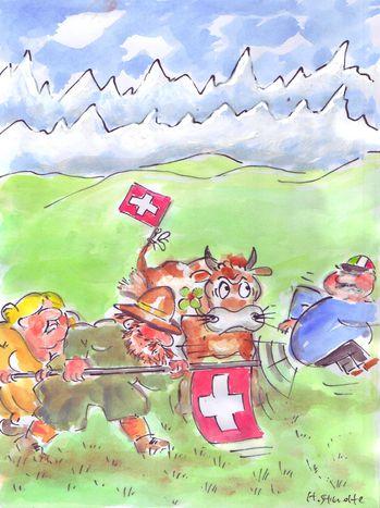 Image for Schweizer Balairatt-Kampagne: Nach den Minaretten, italienische Ratten