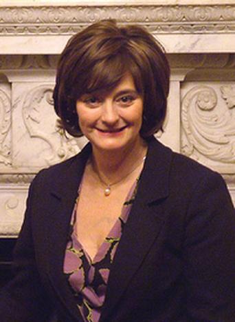 Image for Cherie Blair, a legal knitter