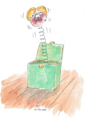 Image for Wie von der Tarantel gestochen