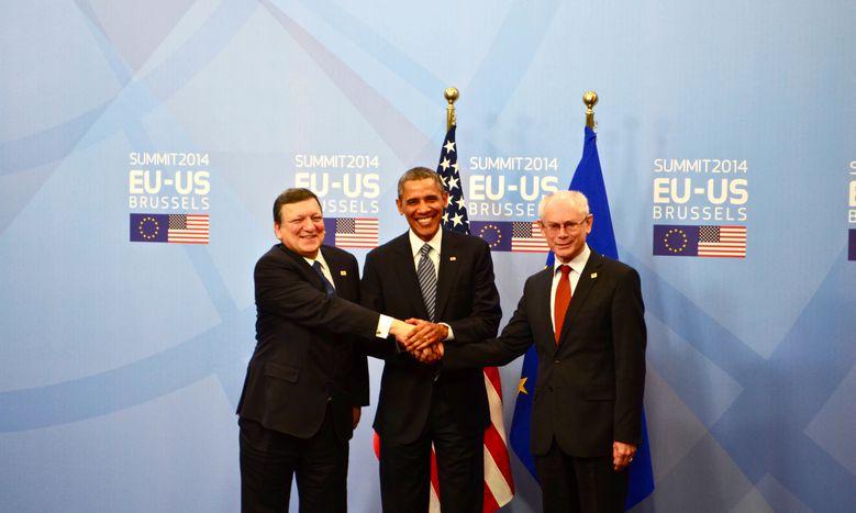 Image for Sommet européen : Obama et ses meilleurs amis