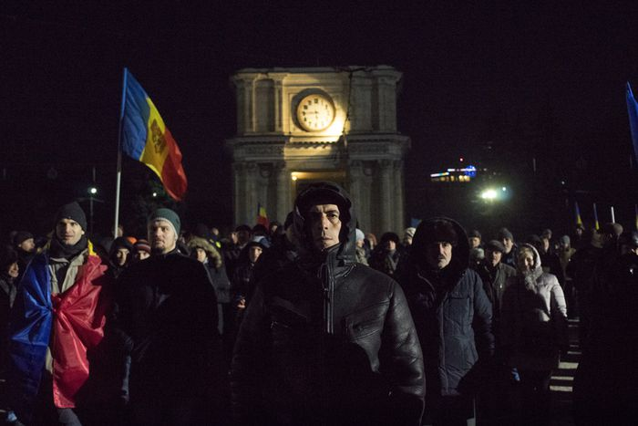 Image for In pictures: Moldovan opposition out on the streets(again)