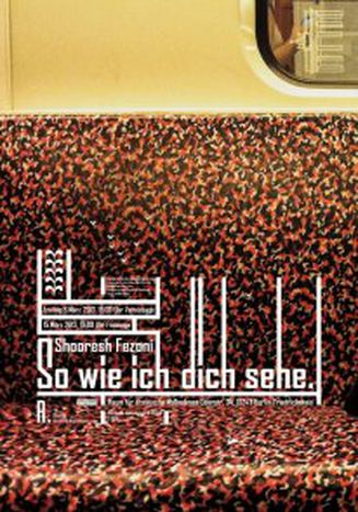 Image for Shooresh Fezoni - So wie ich Dich sehe