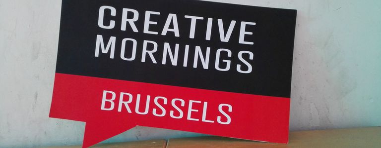 Image for Creative Mornings Brussels: (R)evolution begins with breakfast
