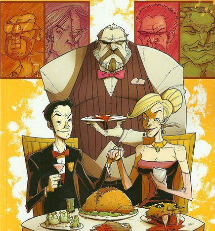 Image for Bio-Gore in CHEW: Comic-Kost mit Biss