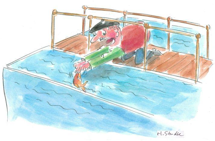 Image for ¡No permitáis que el pez se ahogue!