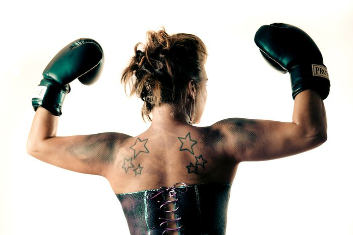Image for Berlin : boxe thaïe au féminin