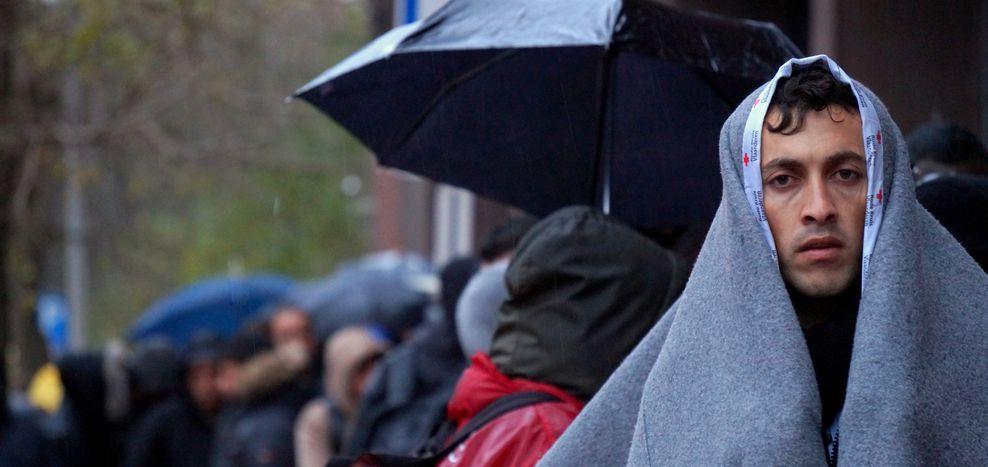 Image for Les réfugiés à Bruxelles ou la valeur d'un droit d'asile