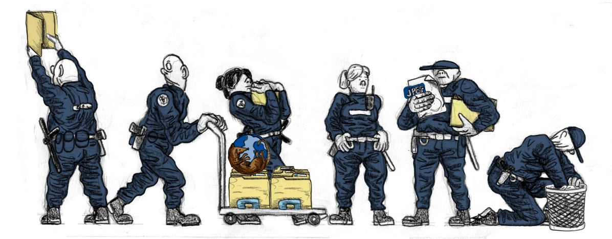 Image for Polonia: Tras el desembarco de la Policía en Internet