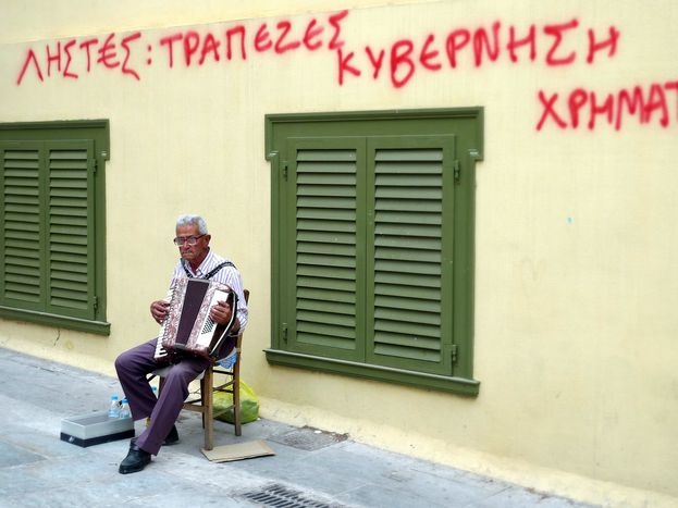 Image for Euro-faillite : une Grèce à graisser par l'Allemagne