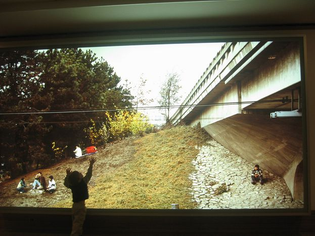 """Image for Jeff Wall's """"Visibility"""" Exhibition at the Tel Aviv Museum of Art, Israel"""