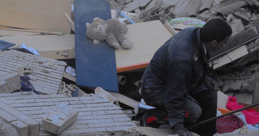 Image for L'Aquila après le tremblement de terre