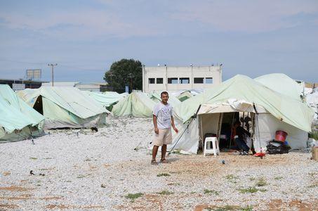 Image for Refugiados en Grecia:una vida entre sombras