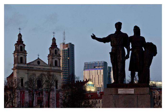 Image for A Vilnius, architecture et identité se mélangent