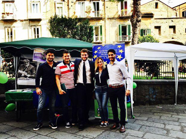 Image for Festa dell'Unità, la prima volta dei Giovani Federalisti Europei.