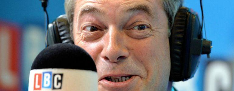Image for Ein Rechter im Radio: Die Nigel Farage Show