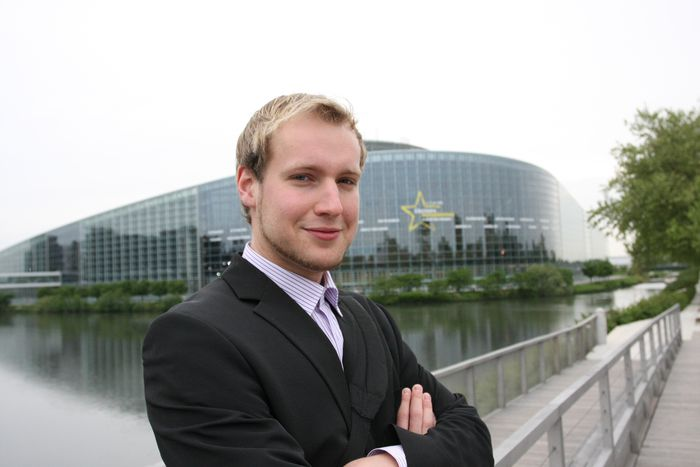 Image for One day at the European parliament in Strasbourg