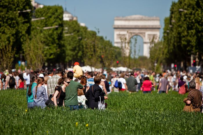 Image for Transition towns: in the gardens of Paris