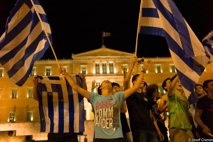 Image for Besorgter Blickauf Griechenland
