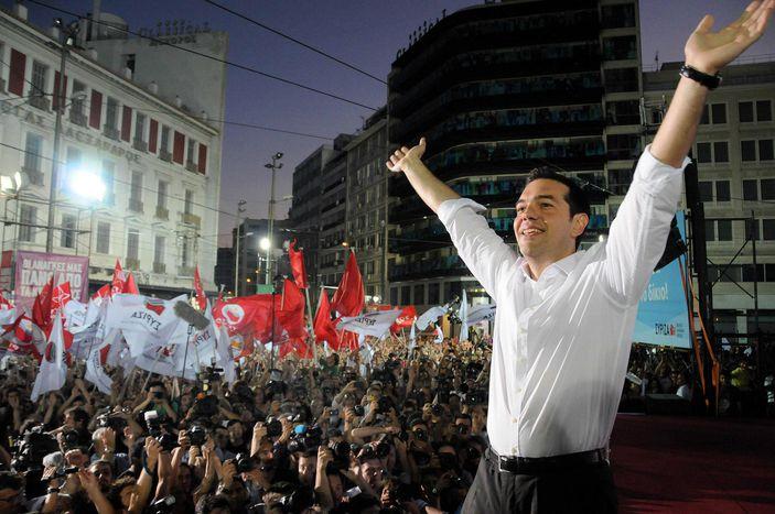 Image for Aléxis Tsipras:le candidat anti-austère