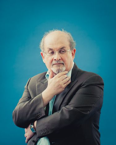 Image for Salman Rushdie at Edinburgh Book Festival: 'We define ourselves by hate'