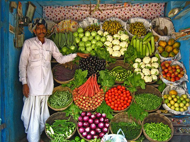 Image for India: AVegetarian Paradise?