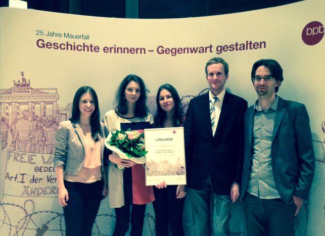 Image for Cafébabel riceve il premio della Bundeszentrale für politische Bildung
