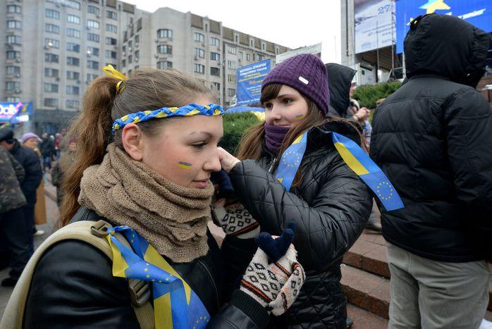 Image for Vor Vilnius-Gipfel: Kiews Jugend in Europafieber