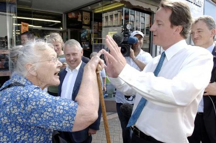 Image for Tories in EU: is David Cameron more conservative than your grandma?