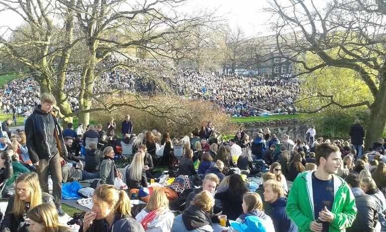 Image for La fiesta estudiantil más grande de Europa