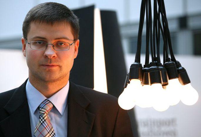 Image for Valdis Dombrovskis : solution lettone anti-crise