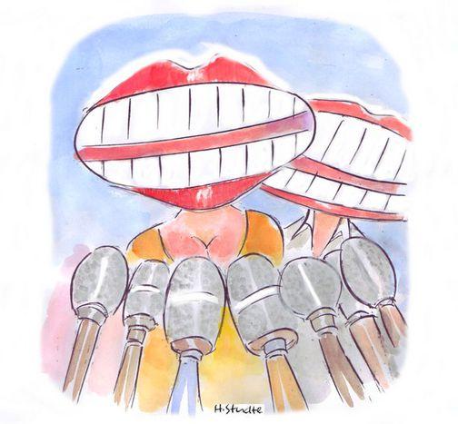 Image for Mostra i denti alla spagnola