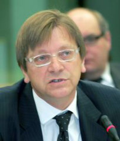 Image for Guy Verhofstadt, Honorary President of the Union of the European Federalists - Belgium