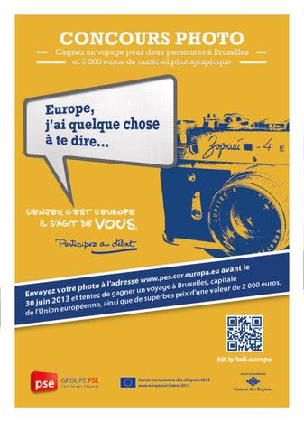 """Image for Cafébabel, partenaire du concours photo """"Europe, j'ai quelque chose à te dire…"""""""