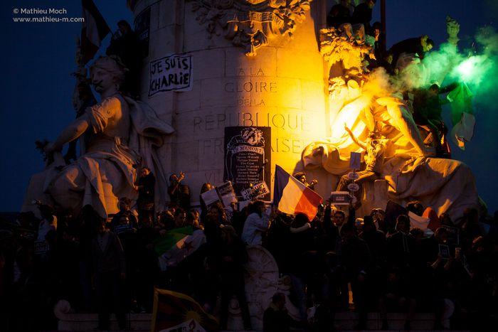 Image for Marsch der Republik: #JeSuisCharlie größer als '68