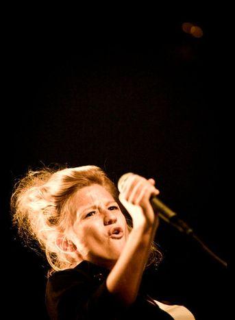 Image for Belgian singer Selah Sue, no Amy Winehouse