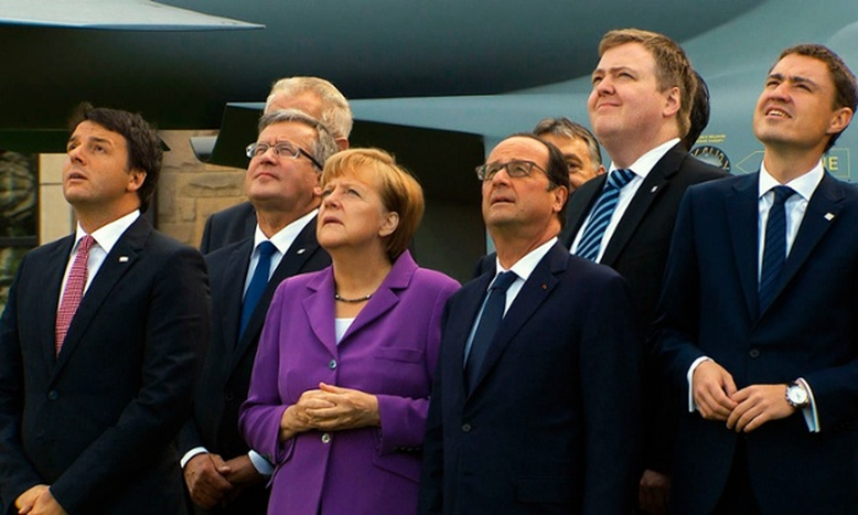 Image for Reviewing the end of Europe:The Great European Disaster Movie