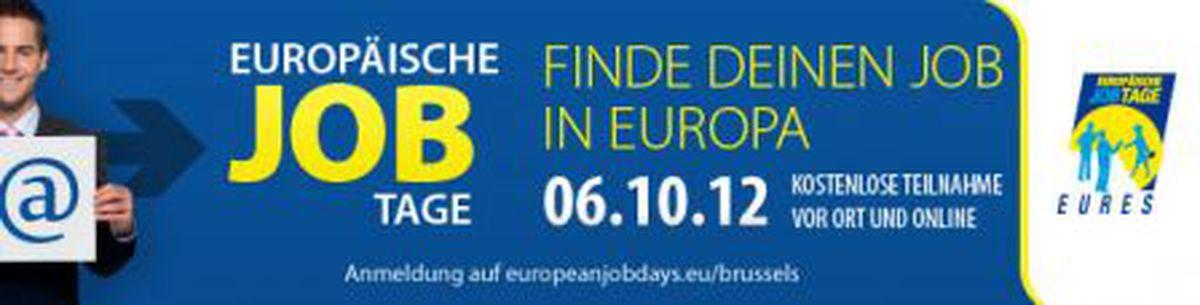 Image for Sie suchen einen Arbeitsplatz in Europa?