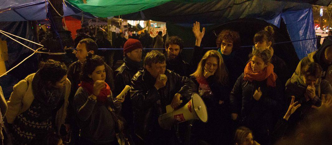 Image for Nuit Debout Berlin: Wach bleiben, wenn wir es wagen