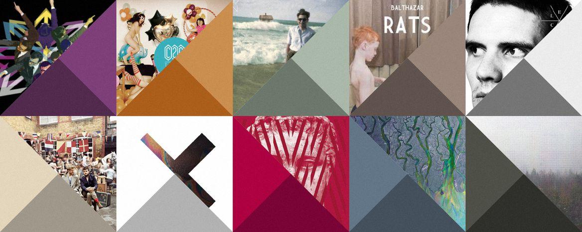 Image for Top albums européens 2012