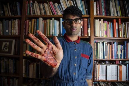 "Image for ""Being a gender non-conforming person of color in the LGBTQIA community is terrifying"", says Alok Vaid-Menon"