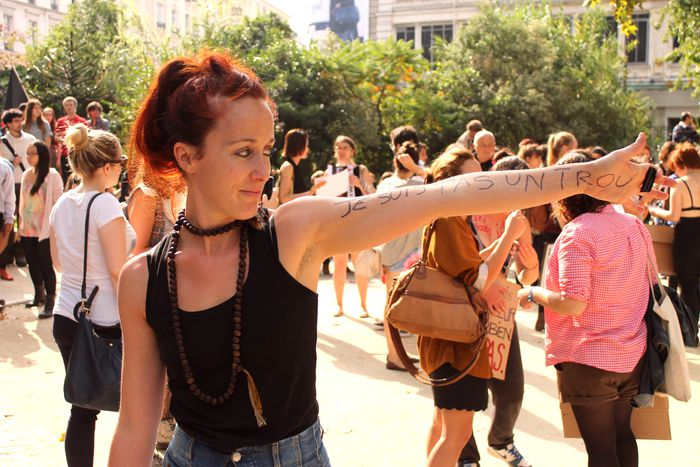 Image for Vive les femmes: the faces ofSlutwalk Paris