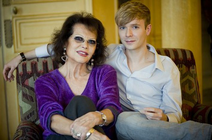 Image for On the sofa with Claudia Cardinale and Alexandre Styker