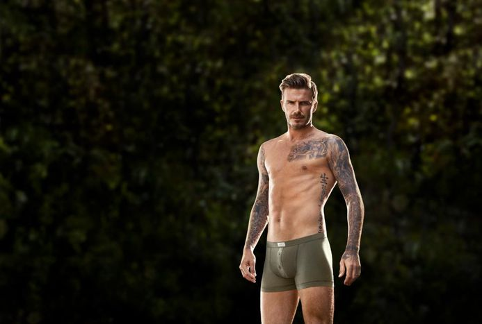 Image for Beckham joins retired sexy European footballers club (5 images)