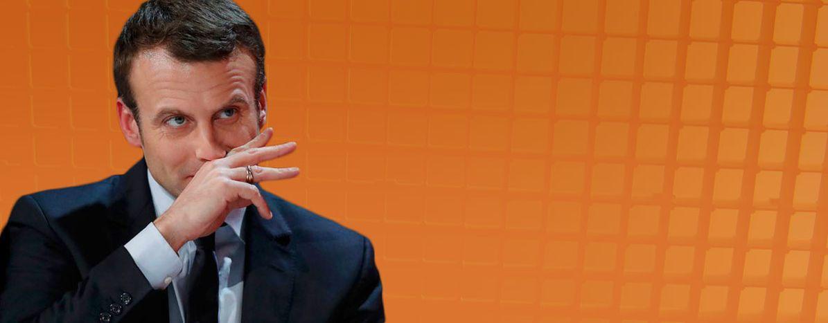 Image for Emmanuel Macron's never-ending story