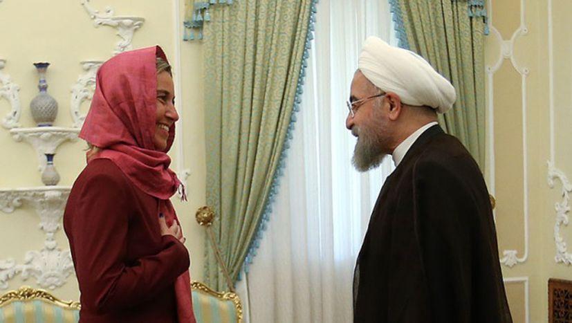 Image for Federica Mogherini ne doit pas se rendre en Iran